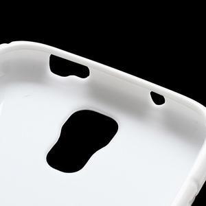 S-line gélový obal pre Samsung Galaxy S4 - biely - 4