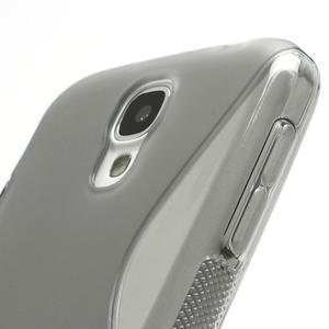 S-line gélový obal na Samsung Galaxy S4 - šedý - 4