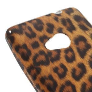 Soft gélový obal na Microsoft Lumia 535 - leopard - 4