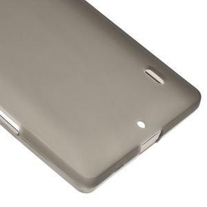 Matný gélový kryt pre Nokia Lumia 930 - sivý - 4