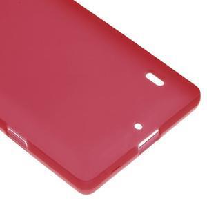 Matný gélový kryt pre Nokia Lumia 930 - červený - 4