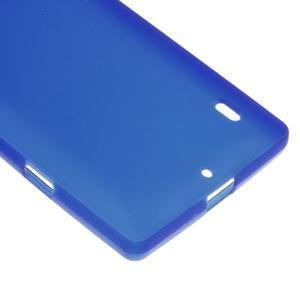 Matný gélový kryt pre Nokia Lumia 930 - modrý - 4