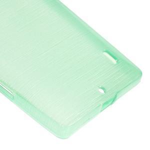 Gélový obal s brúseným vzorem Nokia Lumia 930 - cyan - 4