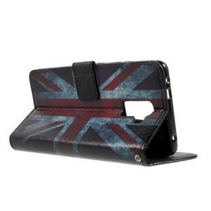 Cross peňaženkové puzdro na Huawei Honor 7 - UK vlajka - 4