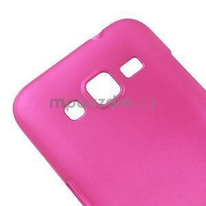 Pogumový plastový obal pre Samsung Galaxy Core Prime - rose - 4