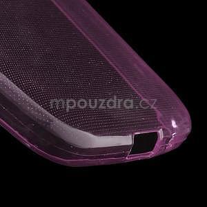 Ultra tenký slim obal pre Samsung Galaxy Core Prime - ružový - 4