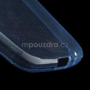 Ultra tenký slim obal pre Samsung Galaxy Core Prime - tmavo modrý - 4