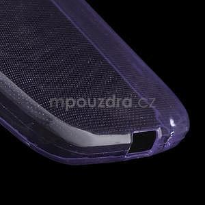 Ultra tenký slim obal pre Samsung Galaxy Core Prime - fialový - 4