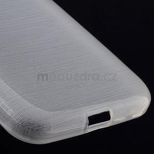 Brúsený gélový kryt pre Samsung Galaxy Core Prime - transparentný - 4