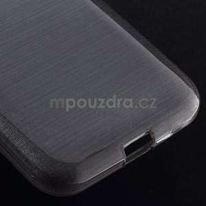 Brúsený gélový kryt pre Samsung Galaxy Core Prime - šedý - 4