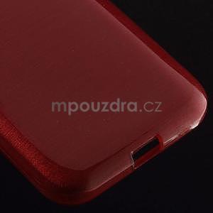 Brúsený gélový kryt pre Samsung Galaxy Core Prime - červený - 4