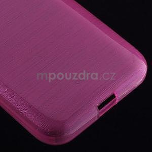Broušený gelový kryt na Samsung Galaxy Core Prime - rose - 4