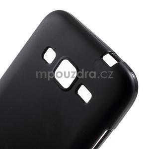 Černý matný gelový kryt Samsung Galaxy Core Prime - 4