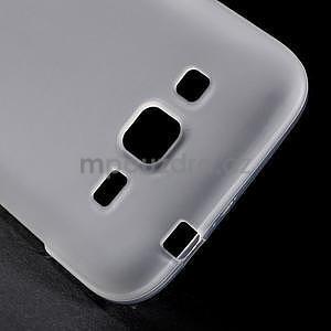 Biely matný gélový kryt Samsung Galaxy Core Prime - 4