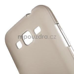 Šedý matný gelový kryt Samsung Galaxy Core Prime - 4