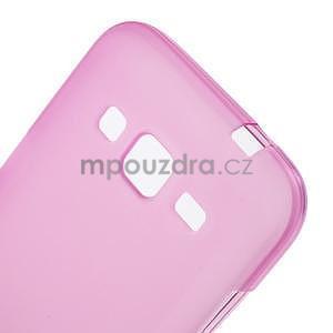 Rose matný gélový kryt Samsung Galaxy Core Prime - 4