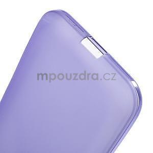 Fialový matný gelový kryt Samsung Galaxy Core Prime - 4