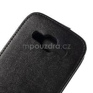 Flipové puzdro Samsung Galaxy Core Prime - čierne - 4