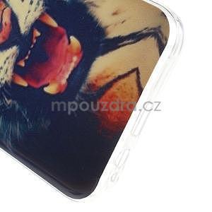 Gélový obal pre mobil Samsung Galaxy E5 - tiger - 4