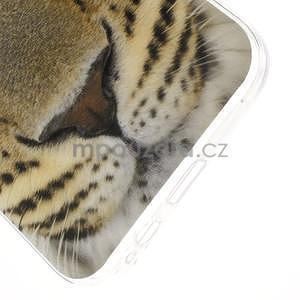 Gélový obal na mobil Samsung Galaxy E5 - leopard - 4