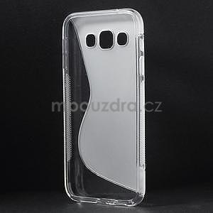 Transparentní gélový obal Samsung Galaxy E5 - 4