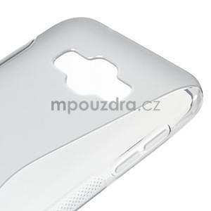 S-line gélový obal na Samsung Galaxy E7 - šedý - 4
