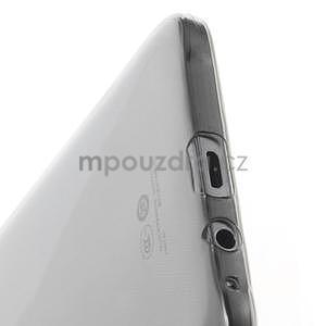 Ulta tenký obal na Samsung Galaxy E7 - šedý - 4