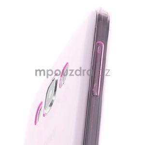 Ulta tenký obal pre Samsung Galaxy E7 - ružový - 4