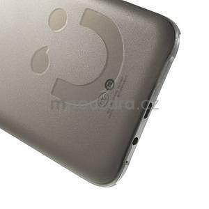 Plastový kryt pre mobil Samsung Galaxy E7 - šedý - 4