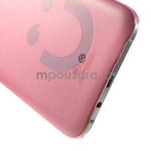 Plastový kryt na mobil Samsung Galaxy E7 - růžový - 4