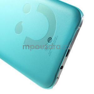 Plastový kryt na mobil Samsung Galaxy E7 - tyrkysový - 4