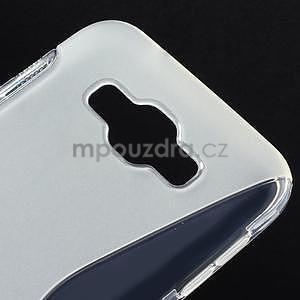 S-line gélový obal na Samsung Galaxy E7 - transparentný - 4