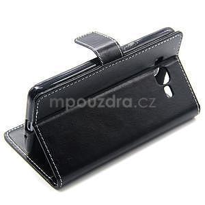 Čierné puzdro pre Samsung Galaxy Grand Prime - 4