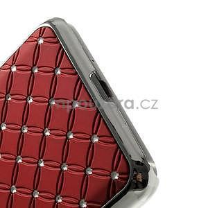 Červený drahokamový kryt pre Samsung Grand Prime - 4