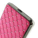 Ružový drahokamový kryt pre Samsung Grand Prime - 4/6