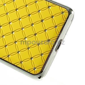 Žltý drahokamový kryt pre Samsung Grand Prime - 4