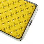 Žltý drahokamový kryt pre Samsung Grand Prime - 4/6