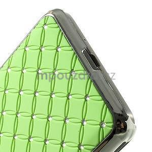 Zelený drahokamový kryt pre Samsung Grand Prime - 4