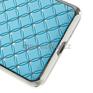 Tyrkysový drahokamový kryt na Samsung Grand Prime - 4