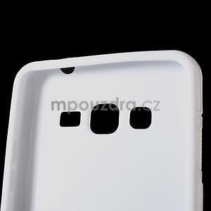 S-line gélový obal pre Samsung Galaxy Grand Prime - biely - 4