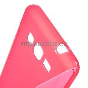 S-line gélový obal na Samsung Galaxy Grand Prime - rose - 4