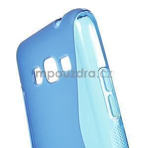 S-line gélový obal na Samsung Galaxy Grand Prime - modrý - 4