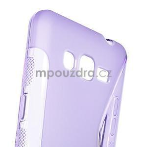 S-line gélový obal na Samsung Galaxy Grand Prime - fialový - 4