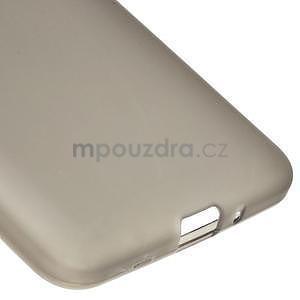 Šedý matný gélový obal pre Samsung Galaxy Grand Prime - 4