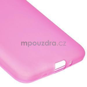 Rose matný gélový obal pre Samsung Galaxy Grand Prime - 4