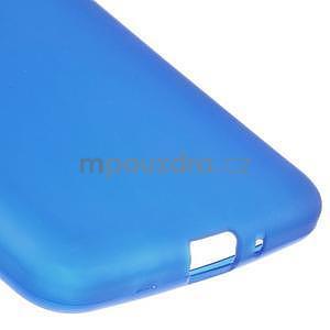 Modrý matný gélový obal pre Samsung Galaxy Grand Prime - 4
