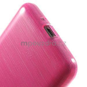 Broušený gélový obal pre Samsung Galaxy Grand Prime - rose - 4