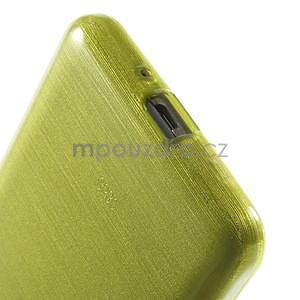 Brúsený gélový obal pre Samsung Galaxy Grand Prime - zelený - 4