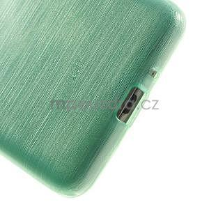 Brúsený gélový obal pre Samsung Galaxy Grand Prime - cyan - 4