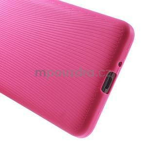 Tenký pogumovaný obal pre Samsung Galaxy Grand Prime - rose - 4